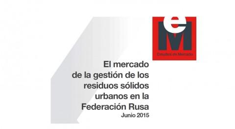 mercado gestión residuos sólidos urbanos Federación Rusa 2015