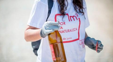 """1 m2 naturaleza"" recoge más 30 toneladas basura espacios naturales España"