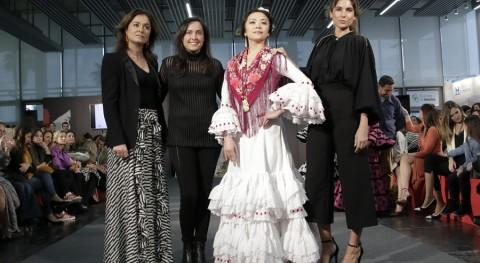 primer traje flamenca realizado tejidos reciclados ya es realidad