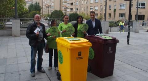 Logroño refuerza limpieza San Mateo más contenedores y urinarios portátiles