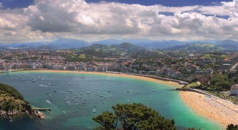servicios limpieza Donostia retiran durante Semana Grande más basura que otros años