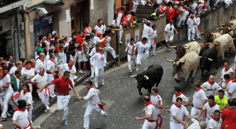 Pamplona quiere que 2018 Casco Antiguo sea zona 'Plásticos Cero' Sanfermines