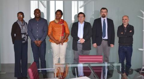 Santo Tomé y Príncipe se fija gestión residuos Badajoz