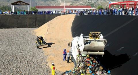 marcha relleno sanitario Huamanga, que mejorará gestión residuos municipales