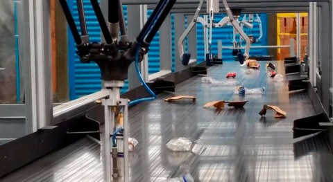 Nueva planta automatizada reciclaje residuos sólidos urbanos