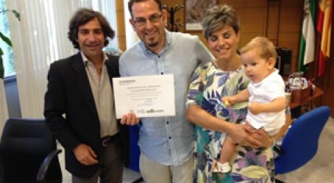 Se entrega Sevilla premio al mejor mensaje corto redes sociales reciclaje