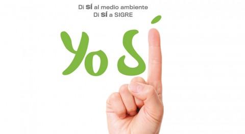 """SIGRE dice """"sí al medio ambiente"""" concienciar reciclado correcto envases"""