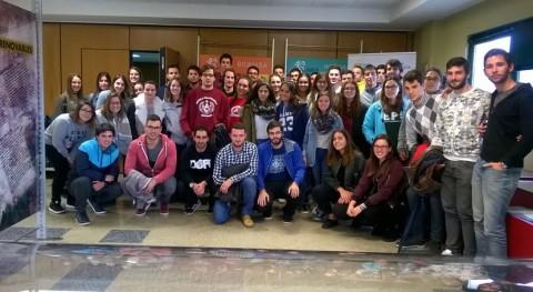 Alumnos Escuela Técnica Superior Ferrol conocen in situ complejo industrial SOGAMA