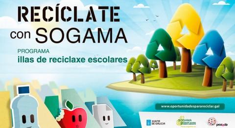 Recíclate Sogama, programa educativo que ya traspasa aulas
