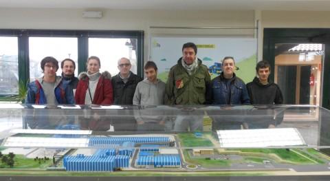 Alumnos Fundación Laboral Construcción estudian operativa y dinámica Sogama