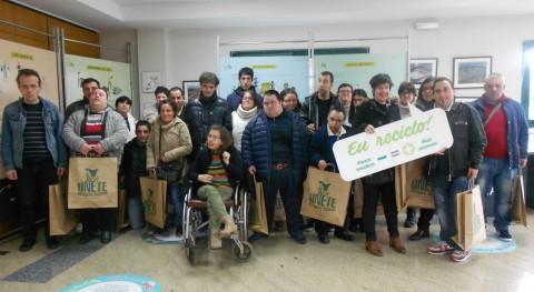 Sogama entrega compostador Centro Cogami-Medelo Silleda