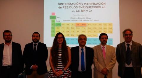 sinterización y vitrificación, alternativas reciclar sustancias nocivas