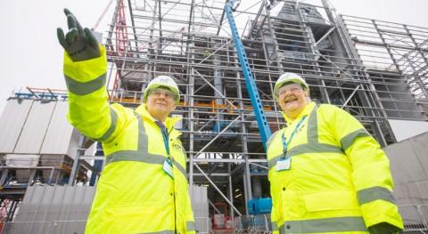 instalación reciclaje y recuperación energía Millerhill Escocia alcanza ecuador
