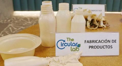 TheCircularLab presenta plástico sostenible partir residuos vegetales