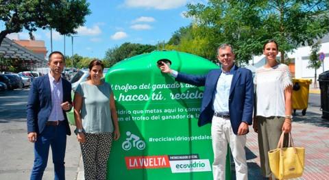 Tomares anima vecinos participar trofeo vidrio reciclado Vuelta