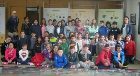 """colegio Cristina Coruña se implica """"Recíclate Sogama"""""""