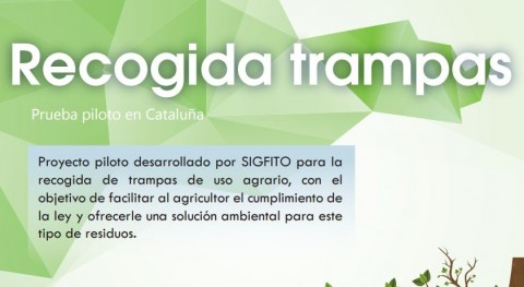 SIGFITO pone marcha Cataluña proyecto piloto recogida trampas