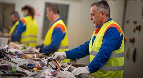 industria reciclaje papel y cartón creará más 1.000 empleos verdes 2018