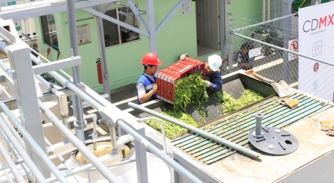 Ciudad México estrena primera planta valorización residuos orgánicos
