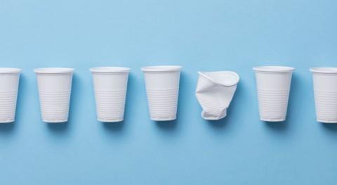 Residuos agrícolas, alternativa al plástico vasos desechables