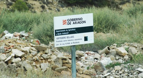 Denunciado uso vertedero sellado Ballobar Huesca
