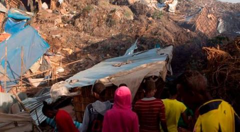 deslizamiento provoca decenas muertes vertedero Addis Abeba, capital Etiopía