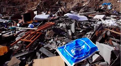 Prosigue vertido impune fibrocemento y residuos construcción sur Madrid