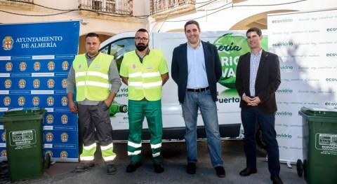 """Almería activa servicio recogida """"puerta puerta"""" hostelería"""