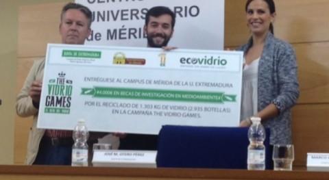 """Campus Universitario Mérida, ganador competición """"The Vidrio Games"""""""