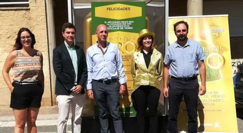 Pradejón gana 'Contenedor Oro' julio incrementar tasa reciclaje 38,94 %