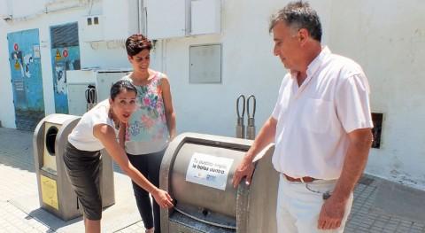 Tu pueblo limpio, bolsa dentro: Villa Río impulsa correcto uso contenedores
