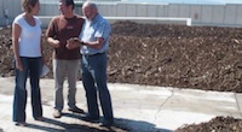 Logroño abre planta compostaje ciudadanos