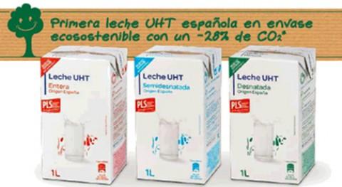 Carrefour lanza primera leche UHT española envase eco sostenible