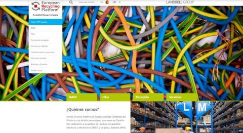 European Recycling Platform España estrena web: información reciclado RAEE, aun click