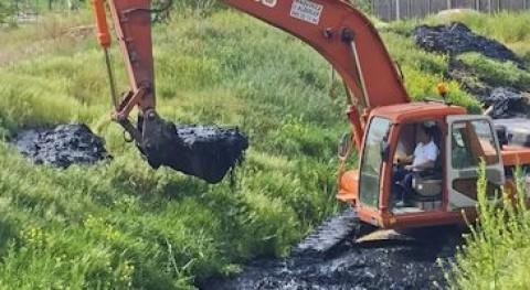 Torrejón Ardoz lleva cabo nueva limpieza programada arroyo Ardoz