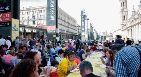 #ZgzNoTiraComida reparte más 6.400 raciones comida desperdicio alimentario