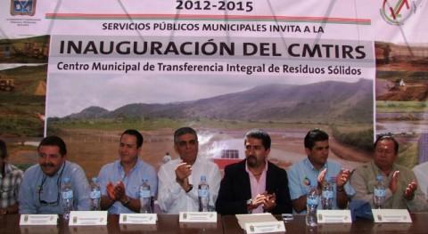 operación nuevo Centro Municipal Transferencia Integral Residuos Sólidos México