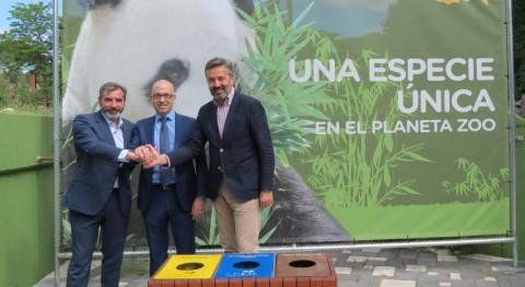 zoo Madrid impulsa recogida selectiva instalaciones parque