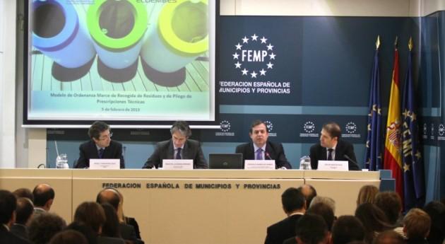 Federico Ramos anima entidades locales actualizar modelos gestión residuos