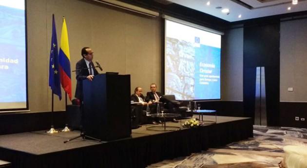 Colombia y Unión Europea intercambian experiencias materia economía circular