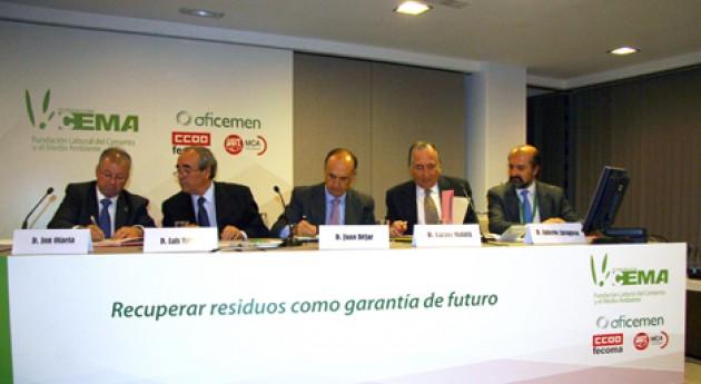 FER, Oficement y Sigrauto renuevan acuerdo valorización energética residuos automóvil