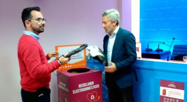 Lanzarote fomenta reciclaje RAEE distribución 60 contenedores toda isla