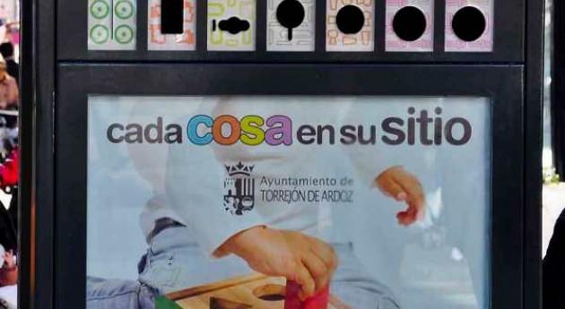 """Torrejón Ardoz cuenta 26 nuevos """"mini puntos limpios"""""""