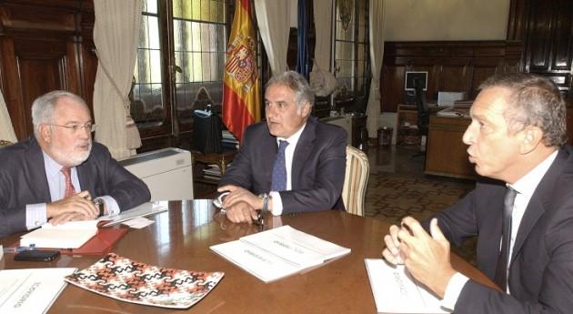 Miguel Arias Cañete se reúne presidente Ecovidrio