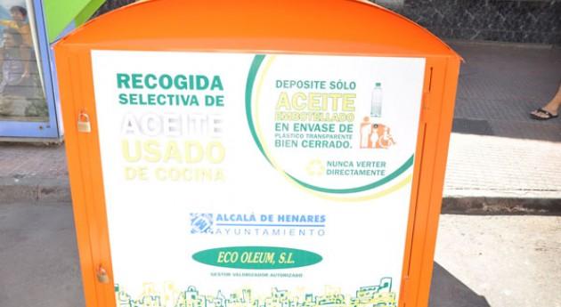 Ayuntamiento Alcalá Henares amplia servicio recogida aceite usado