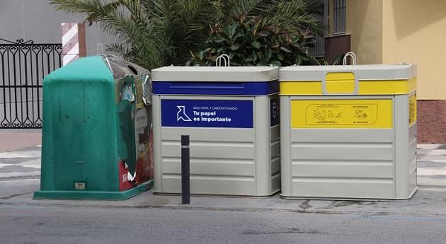 Almuñécar amplia y refuerza servicio reciclado urbano nuevos contenedores