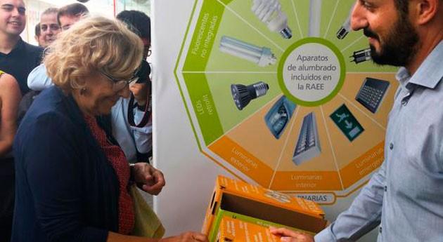 AMBILAMP fomenta reciclaje lámparas Rehabitar Madrid