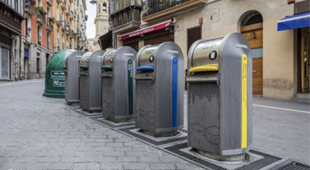 Se refuerza recogida residuos durante fiestas San Fermín Aldapa Navarra
