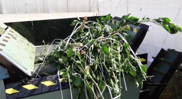 Estación Experimental Fundación Cajamar optimiza recuperación restos vegetales agrícolas