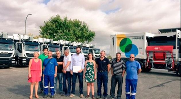 Palma incorpora 31 nuevos vehículos recogida residuos